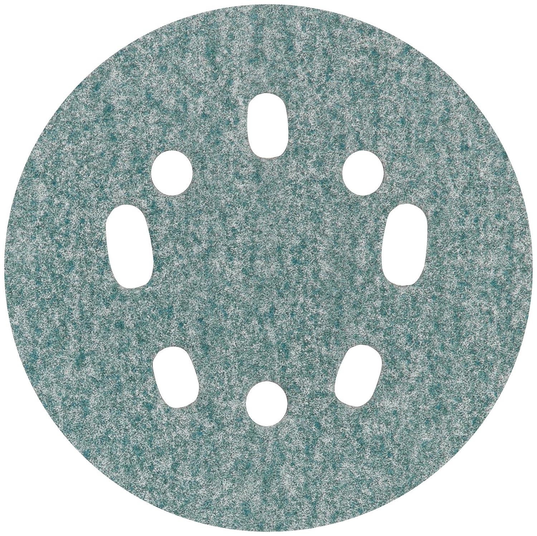 pkg 600 Abrasive Grit Ceramic Norton 5 Coated Hook-and-Loop Sanding Disc Super Fine Grade of 50