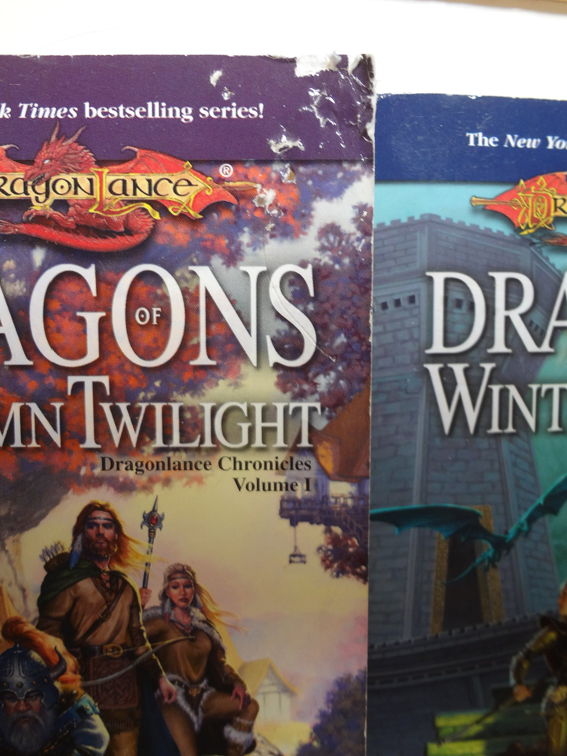 1-3 of the Dragonlance Chronicles (Set Includes: Dragons of Autumn  Twilight, Dragons of Winter Night and Dragons of Spring Dawning): Margaret  Weis, ...