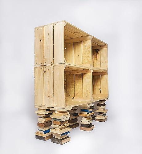 estanterías de cajas de madera estanterías de cajas de fruta estanterías de cajones estanterías modulares modernas