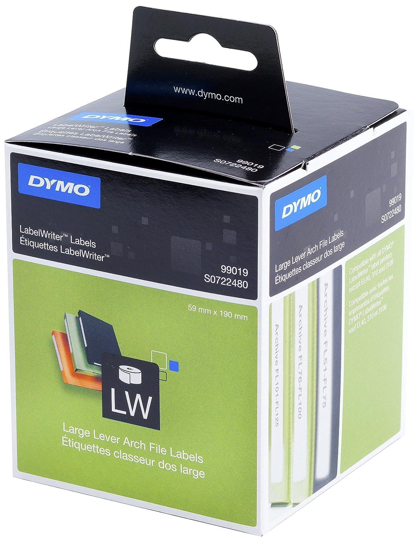 Dymo LabelWriter etichette per dischi, Ø 57mm (rotolo da 160), stampa nera su bianco, S0719250 Newell Rubbermaid Etichettatrici Stampantiperetichette