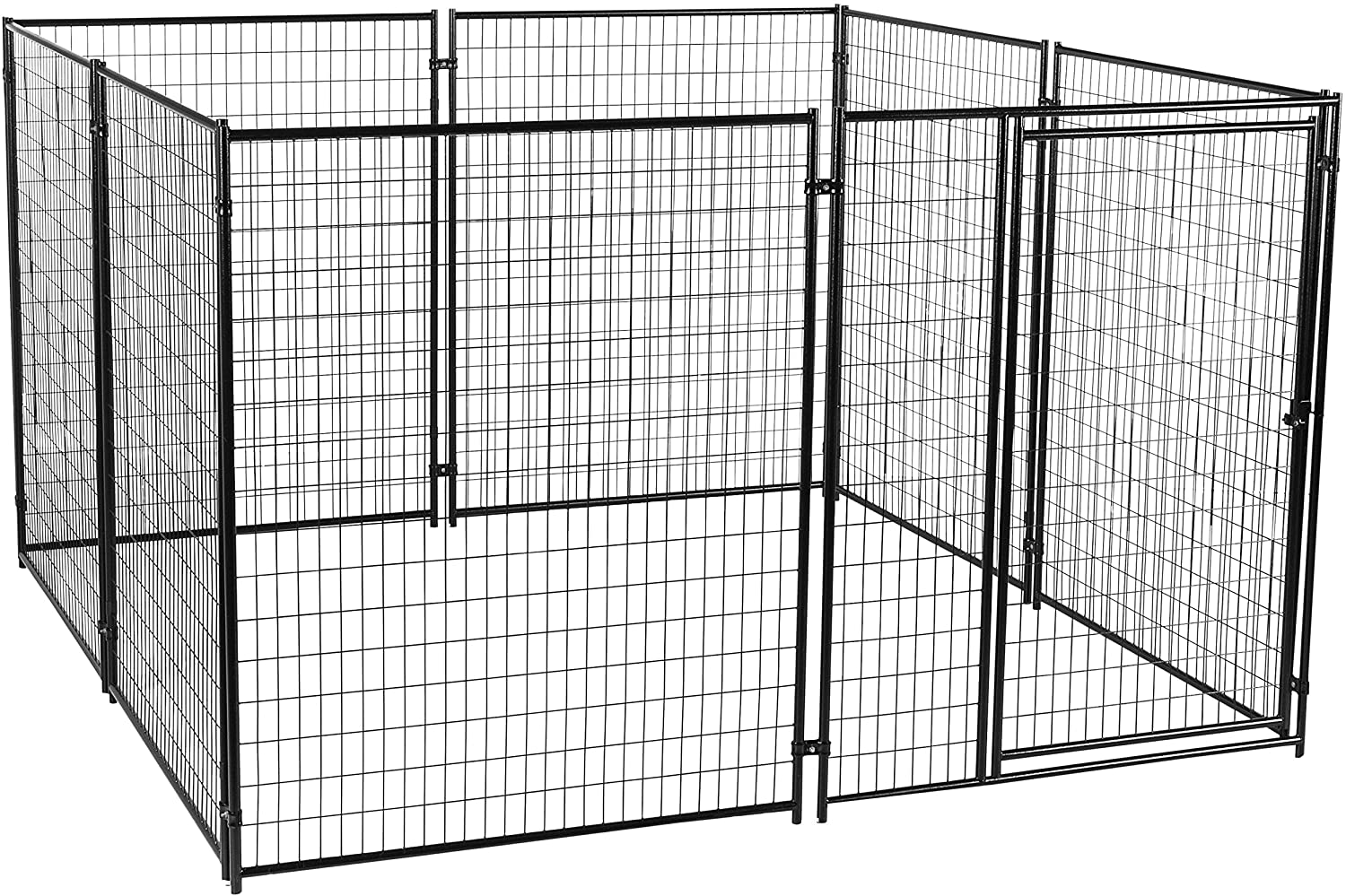 Amazon Com Dog Kennel Lucky Dog Modular Box Kennel This Welded Animal Enclosure Is Perfect For Medium To Large Dogs And Animals And Is Designed With Their Safety And Comfort