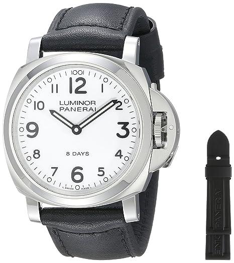 Panerai PAM00561 - Reloj de pulsera hombre, color Negro: Amazon.es: Relojes