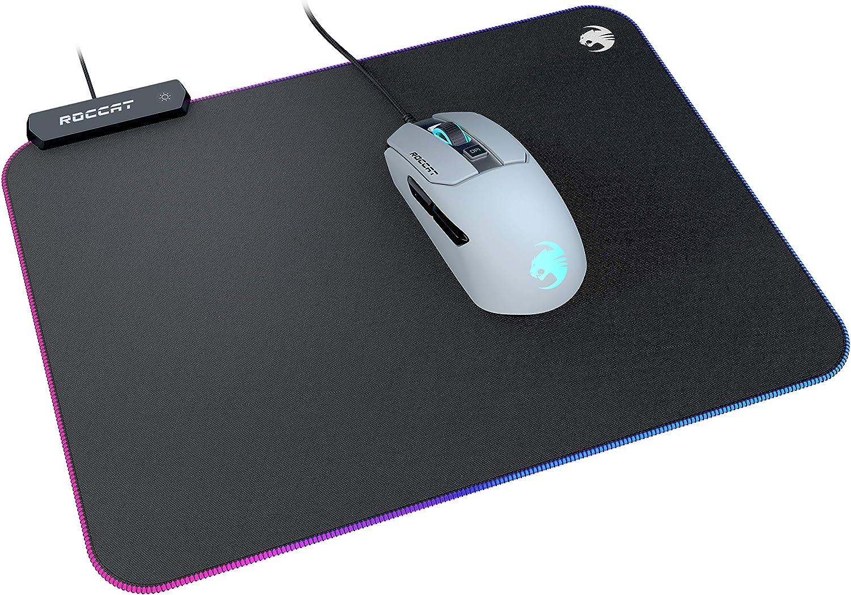 Amazon Prime - Roccat Sense AIMO Gaming Mauspad (LED, 350 mm x 250 mm x 3,5 mm, schwarz) für nur 29,99€