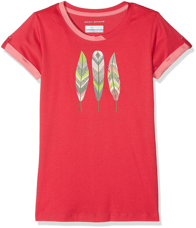 Columbia Kurzärmliges T-Shirt für Mädchen, Lost Trail Short Sleeve Tee, Baumwolle EG0005
