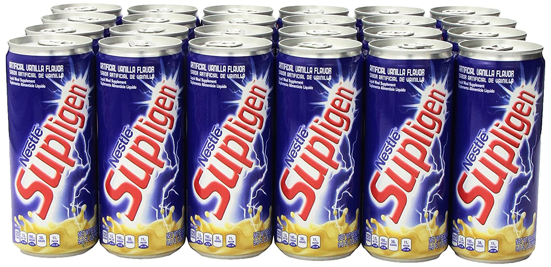 Amazon.com : Supligen Vanilla Energy Drink, 9.8 Ounce (Pack of 24) : Grocery & Gourmet Food