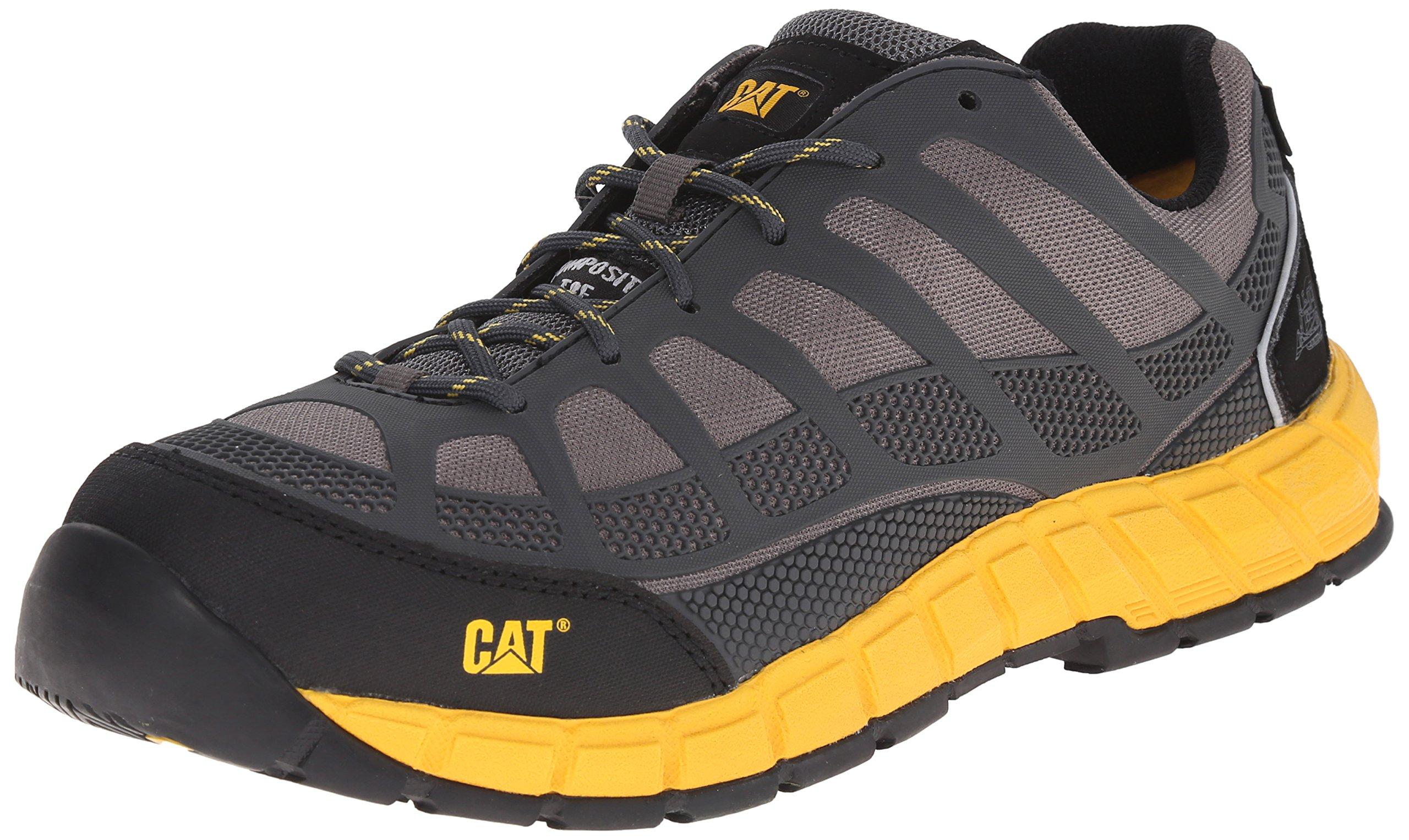 Caterpillar Men's Streamline ESD Comp Toe Work Shoe, Grey, 12 M US