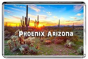 USA E343 Phoenix Arizona Fridge Magnet Travel Photo Refrigerator Magnet