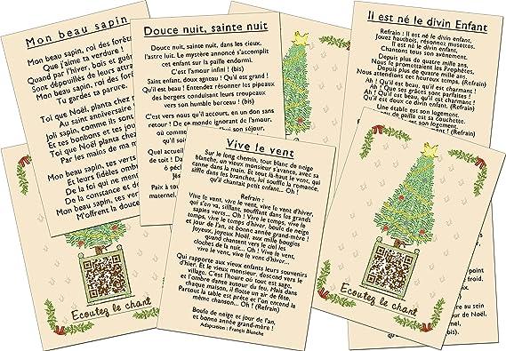 Marcvidal Marcvidal602 24 carolas de Navidad Juguete Educativo: Amazon.es: Juguetes y juegos