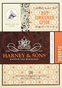 Harney and Sons Hot Cinnamon Spice Tea, 20 Count