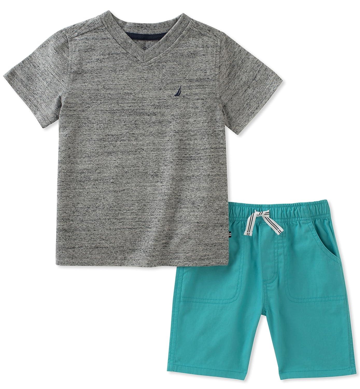 Nautica Boys Tee with Shorts 62E52077-99