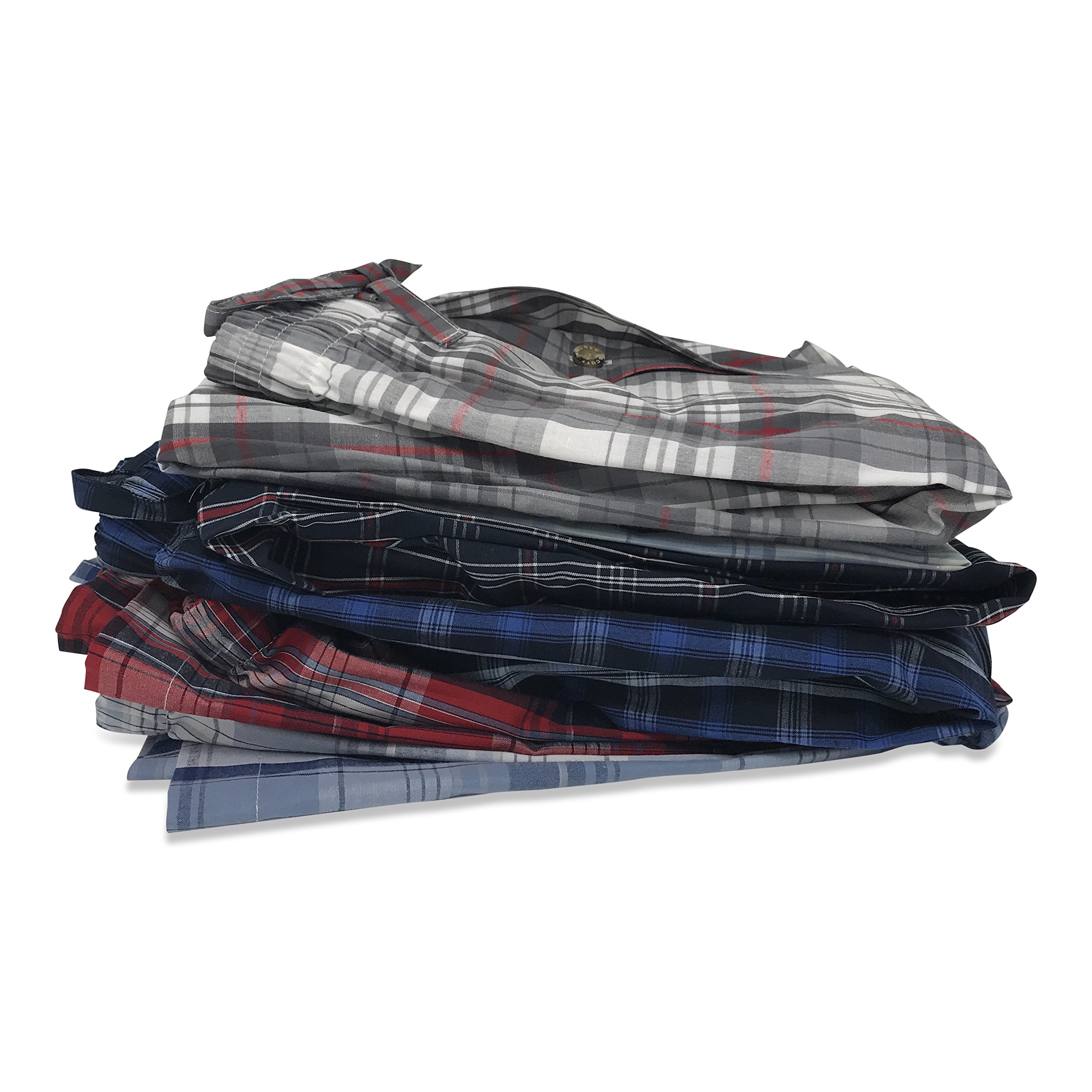 Andrew Scott Boys 6 Pack Woven Pant (XL 18-20, 6 Pack - Assorted Classic Plaids) by Andrew Scott (Image #2)
