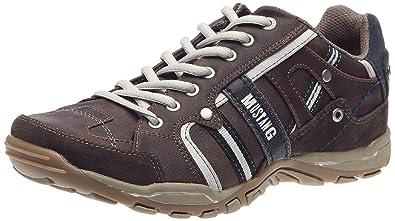 Mustang 4027302, Chaussures de marche nordique homme Marron (323 Dunkelbraun), 46