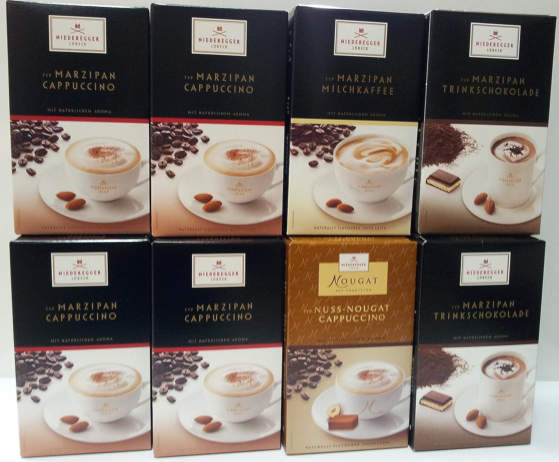 27,19€//kg 8x Niederegger Marzipan MILCHKAFFEE mit Mandelgeschmack Versand 0€