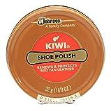 Kiwi Mid Tan Shoe Polish 32g