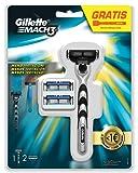 Gillette - Mach3 maquinilla para hombre + 2 recambios