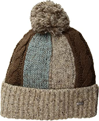 San Diego Hat Company Women s KNH3458 Beanie With Pom Pom Tan One Size 3244bbc98f8