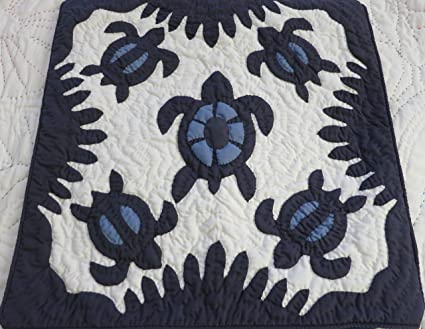 Outstanding handmade hawaiian quilts the adds dimension to this