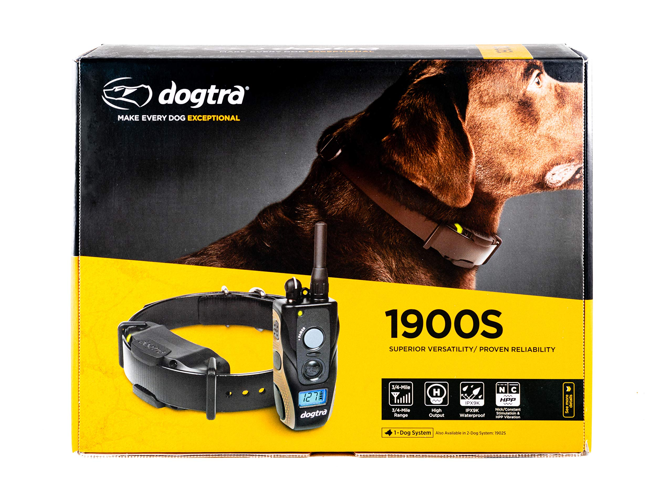 Dogtra Fieldmaster 1 Dog LCD Training Collar by Dogtra