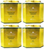 Harney & Sons HRP Tropical Green 30 Ct Sachet Tin (Pack of 4)