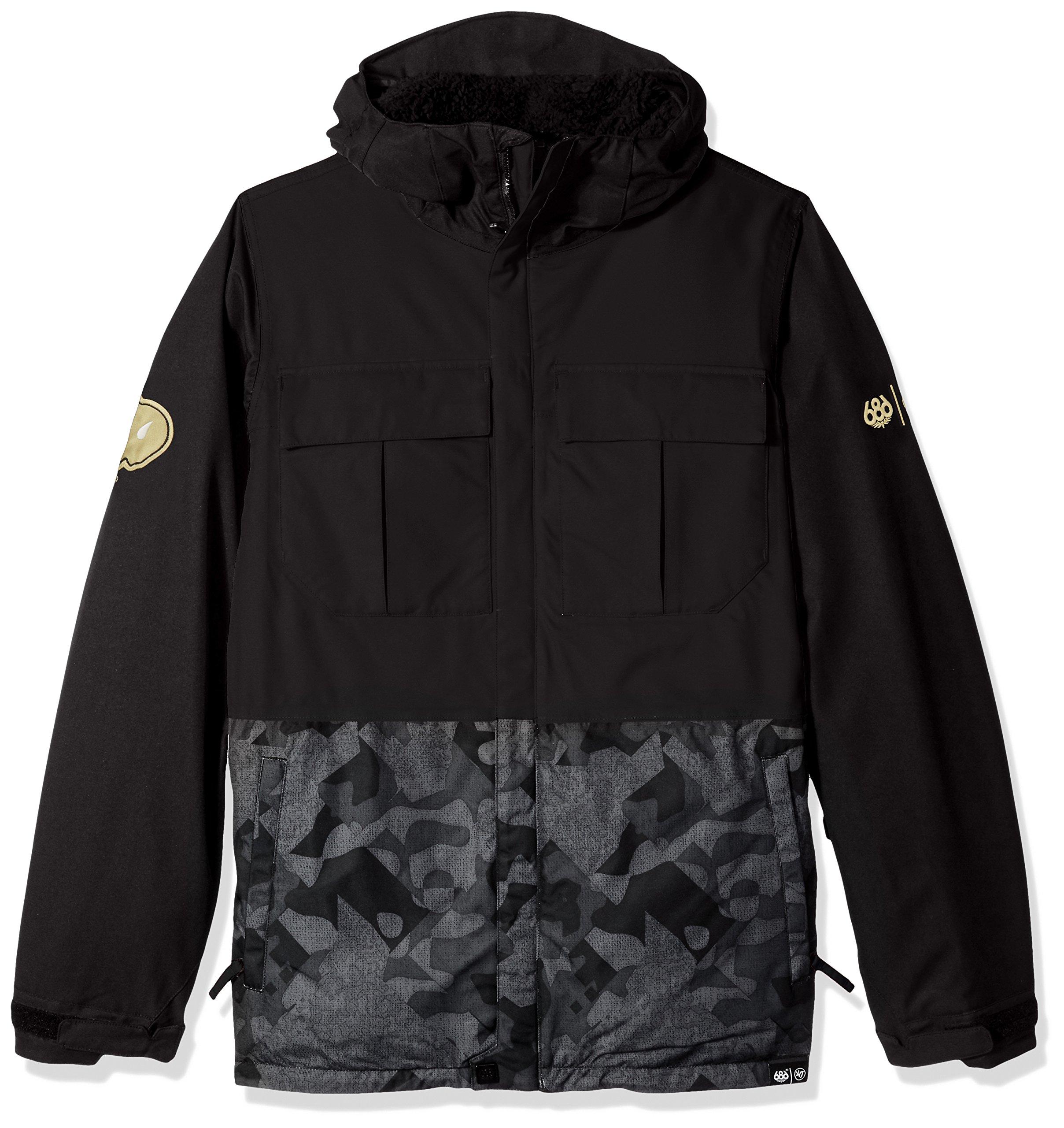 686x47 NCAA Colorado Buffaloes Men's Victory Insulated Jacket, X-Small, Colorado Black