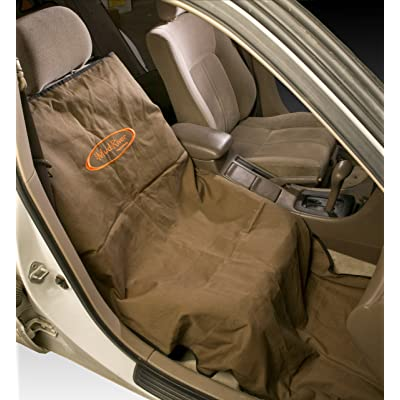 "Mud River Shotgun Single Seat Cover, Brown, 29"" x 68"": Sports & Outdoors"