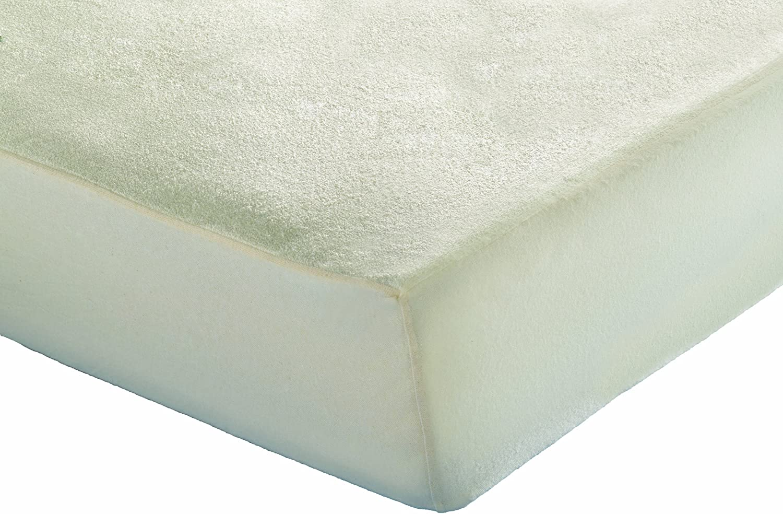Inch DHEPBA80200 Prot/ège Matelas Imperm/éable Fibres de Bambou//Polyester Blanc 80 x 200 cm