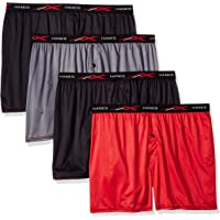 39964f5dd353 Hanes Men's X-Temp 4-Way Stretch Mesh Knit Boxer 4-Pack