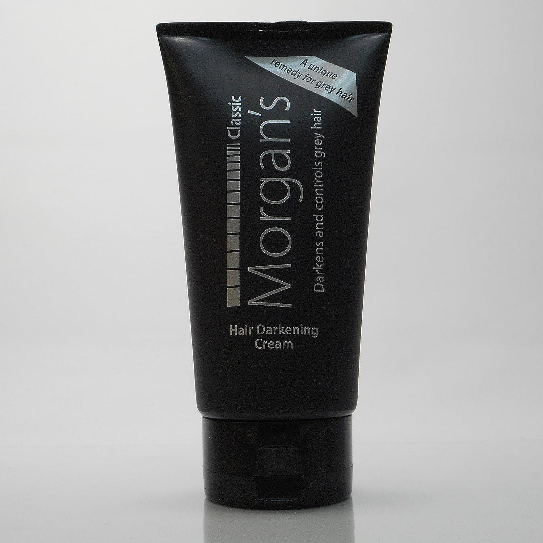 darkening morgans cream hair