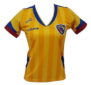 Ecuador Women s Soccer Jersey Exclusive Design Copa America 2016 (Small) 2bd3afee3f