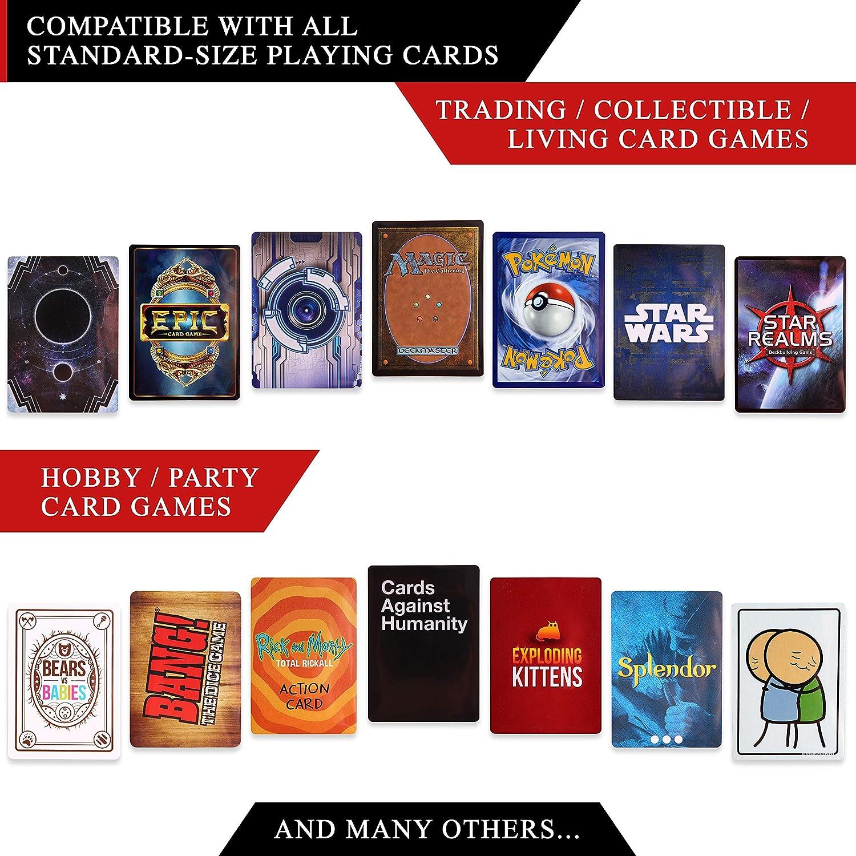 Star Wars Quiver Time Pochettes de Protection Standard Size Transparentes Pokemon Couverture Cartes /à Jouer de Collection individuelle 3-Paquets x 100 pour Carte Magic