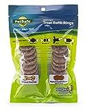 PetSafe Natural Rawhide Rings, Dog Toy Treat Ring