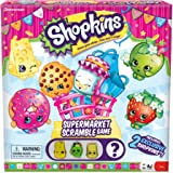 Shopkins Supermarket Scramble Game with 4 Exclusive Collectible Characters Found Only in Our Games
