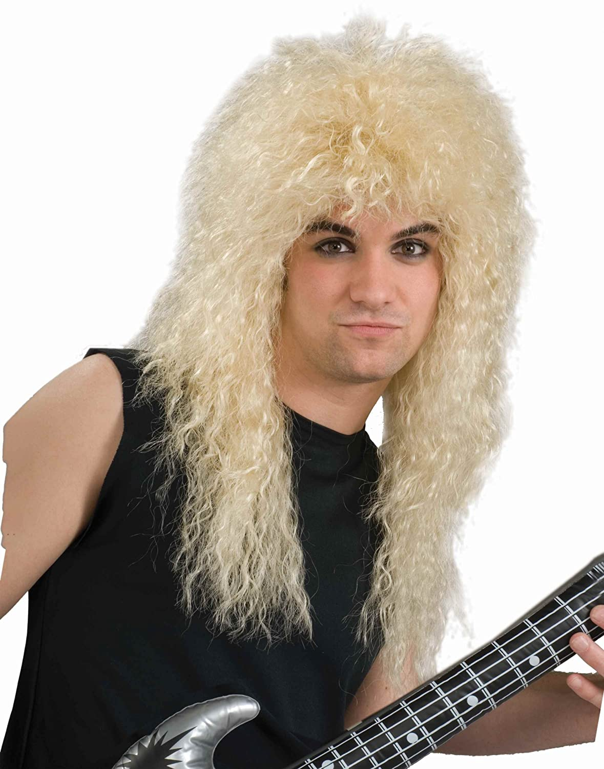 Amazon rock star 80s wig black adult toys games publicscrutiny Image collections