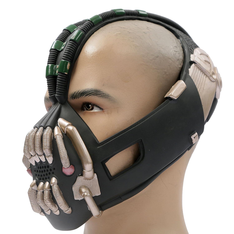 Amazon.com: Bane Mask Costume Props TDKR Full Adult Size - New ...