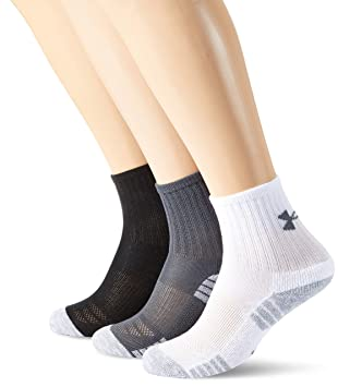 Under Armour Heat Gear Crew Calcetines, Hombre: Amazon.es: Deportes y aire libre