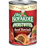 Chef Boyardee Overstuffed RavioliBeef In Hearty Tomato & Meat Sauce, 15 oz