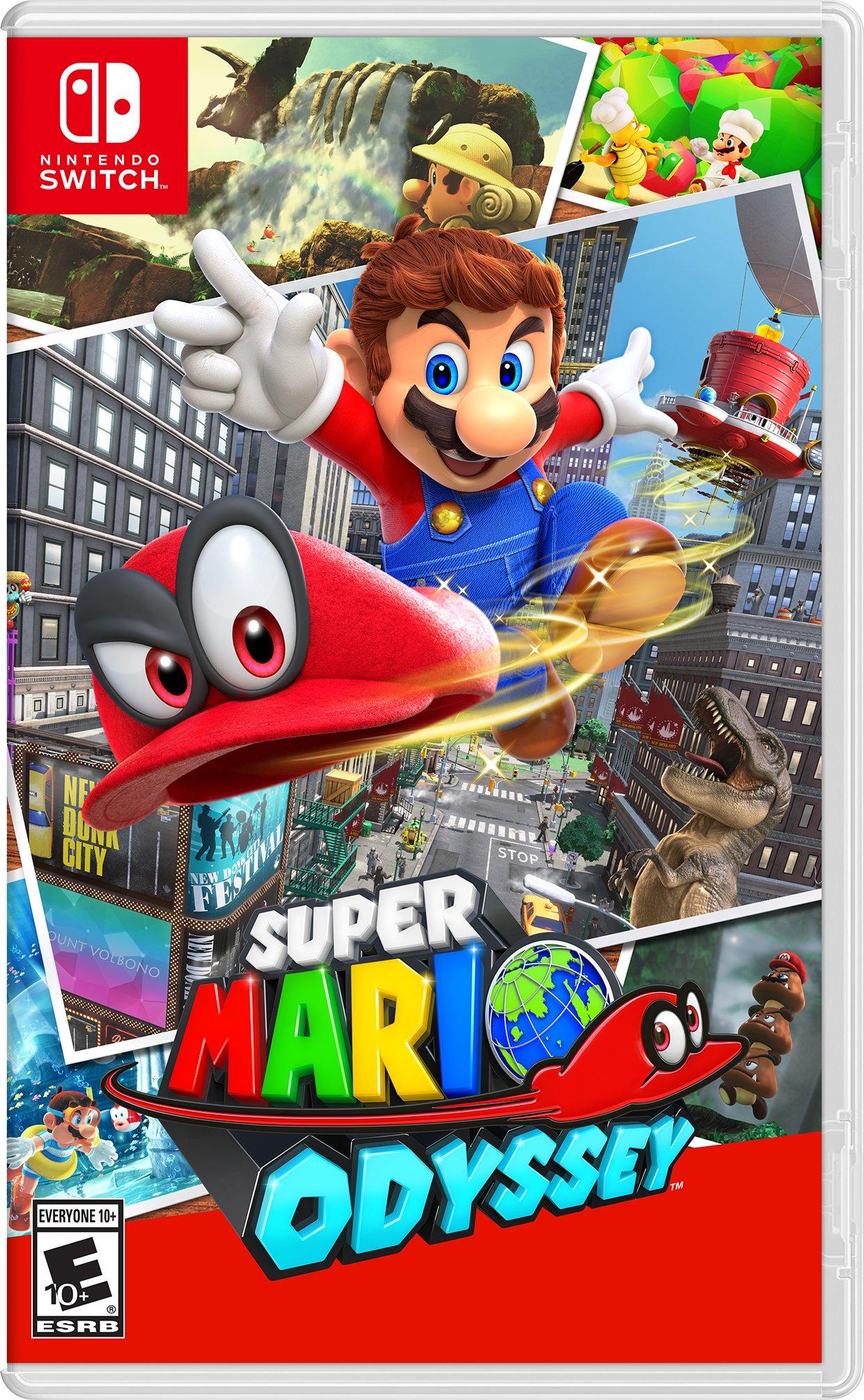 Amazon.com: Super Mario Odyssey - Nintendo Switch: Nintendo of ...