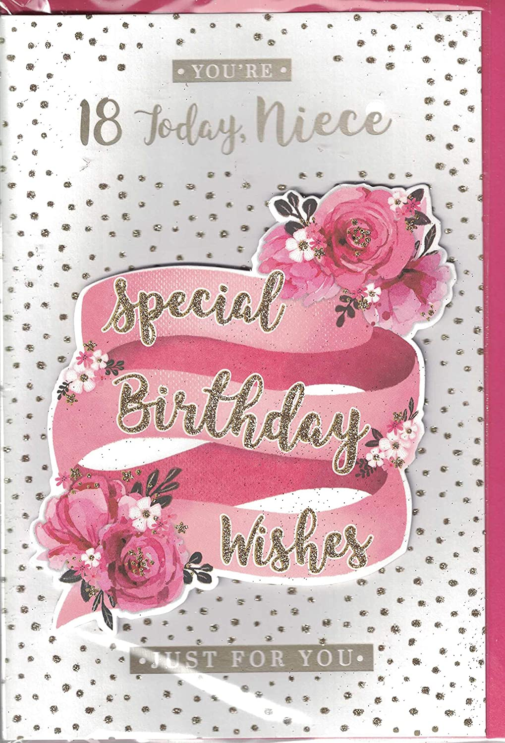 Superb Niece 18Th Birthday Card To A Special Niece Happy 18Th Birthday Funny Birthday Cards Online Elaedamsfinfo