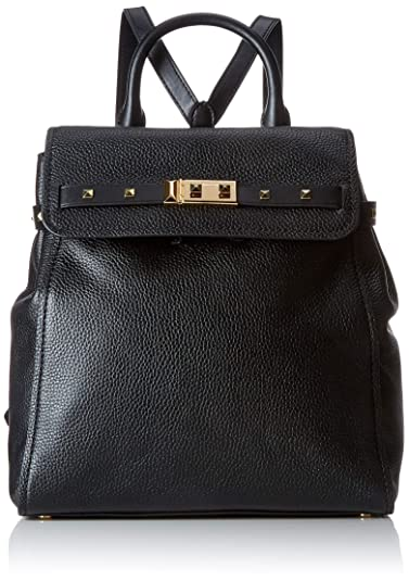 669121705a55 Amazon.com  MICHAEL Michael Kors Addison Medium Backpack - Black  Shoes