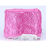 Hair Steamer Cap Beauty Steamer Nourishing Hat Hair Thermal Treatment Cap with 3 Mode Temperature Control, Pink