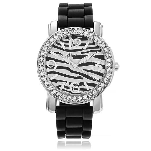 Geneva Platinum 7817.BLK Mujeres Relojes