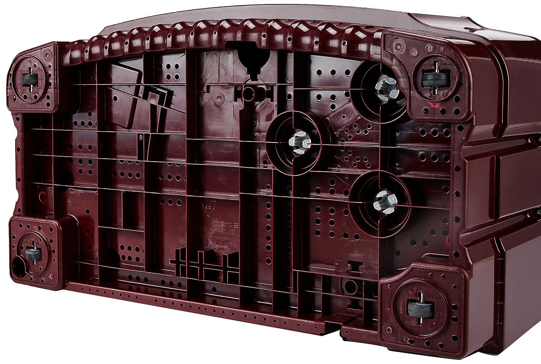 LG 8.0 kg Semi-Automatic Top Loading Washing Machine (P9042R3SM, Burgundy)
