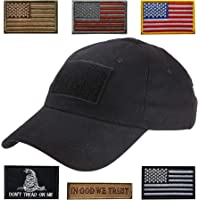 Lightbird Tactical Hat with 6 Pieces Tactical Military Patches 789e5710019