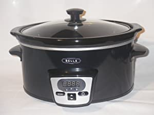 Bella 5 Quart Programmable Slow Cooker - 14337