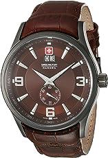 Swiss Military 6-4209.30.005 Reloj Clásico para Hombre (Marrón, Hombre Estándar)