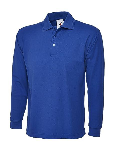 Camiseta polo de manga larga para hombre. Ideal para deportes, trabajo y ocio: Amazon.es: Ropa y accesorios