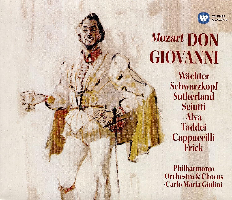Don Giovanni Ltddeluxe Edition Carlo Maria Giulini E Gelang Pria Anchorman Schwarzkopf Wchter Wolfgang Amadeus Mozart Musik