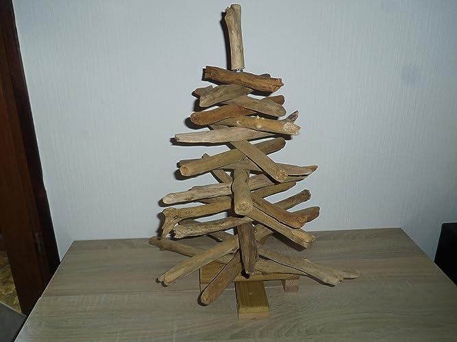 Sapin de Noel en bois flotté - Sapin écologique en bois flotté ...