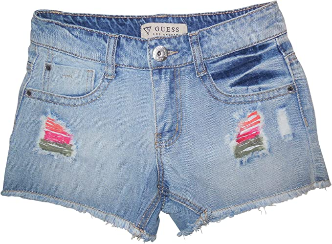 GUESS Girls Cutoff Denim Shorts