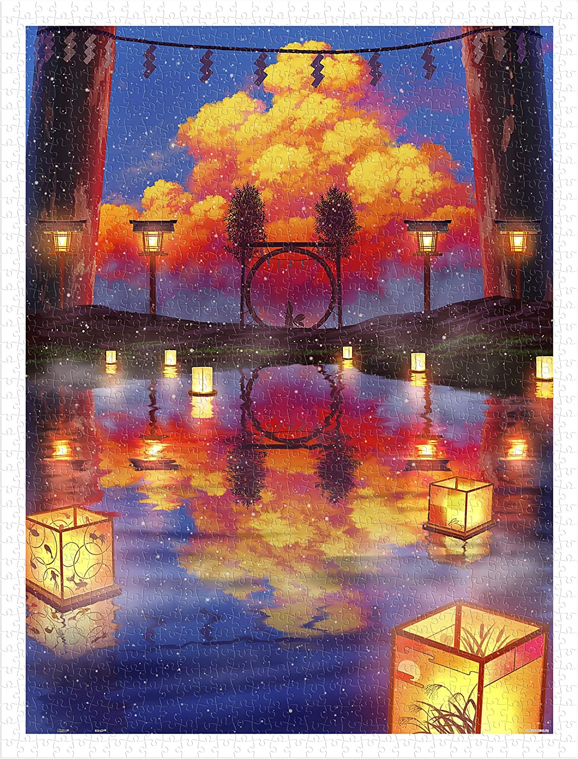 Pintoo - H2413 ペい Reservation Floating Lantern Surprise price 1200 Piece Festival